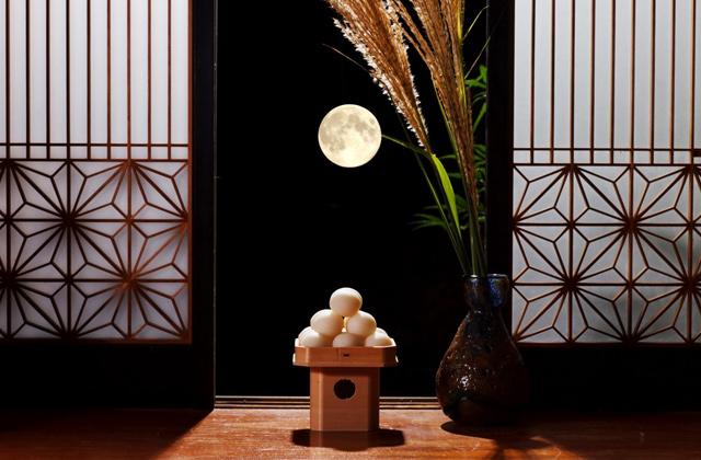 お月見の季節