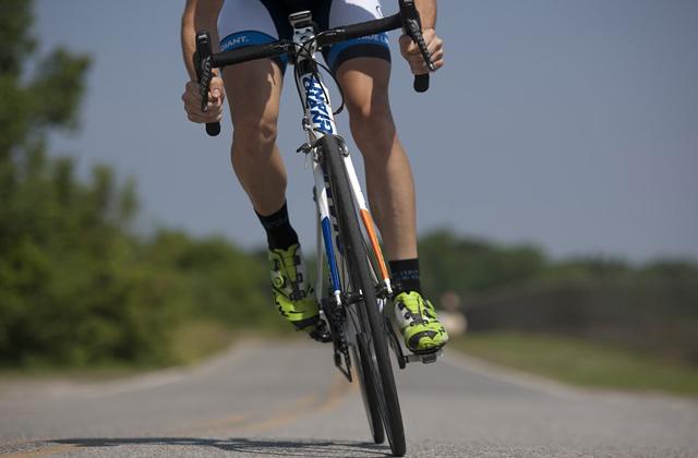 自転車をこぐことで鍛えられる
