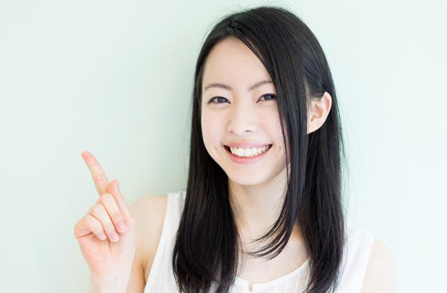 メンタルを鍛える笑顔の女性